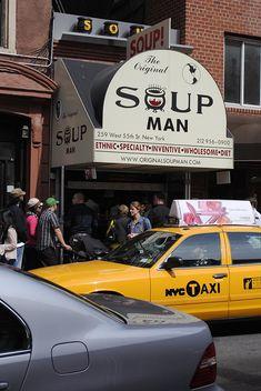 The Original Soup Man NYC aka Soup Nazi