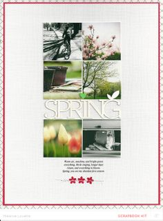 Spring (i love you) Main only by melanie louette at @Studio_Calico. Another gorgeous grid.