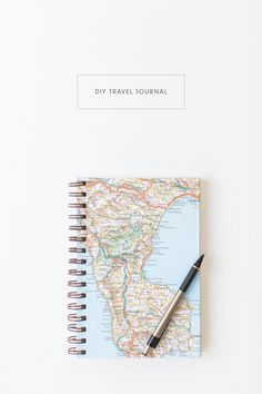 DIY Travel Journal Tutorial