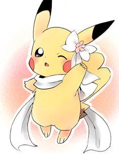 Pokemon Tv Show, Pokemon Alola, Cool Pokemon, Pichu Pikachu Raichu, Cute Pikachu, Cute Pokemon Pictures, Cute Pictures, Female Pikachu, Manga Kawaii