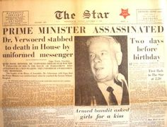 Newspapers investigated on Dimitri Tsafendas after only the funeral to distinguish on reasons of the murder and report on the type of man Tsafendas was. Driving Quotes, Apartheid, Vs Models, African History, My Childhood, New Day, South Africa, Nostalgia, Old Things