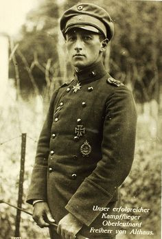 World War One German Aviator by San Diego Air & Space Museum Archives, via Flickr  Why did WWI German pilots pose with riding crops?