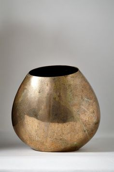 // Bente Hansen; Bronze Vessel, 2000