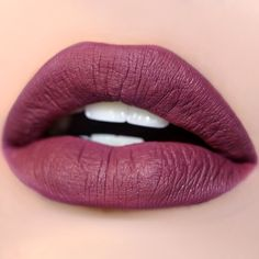 ColourPop - ARE you ready to BE fabulous in this Rich mauve plum.