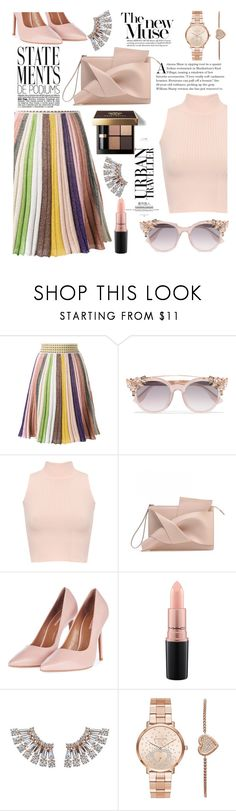 """tout pour elle"" by anilia ❤ liked on Polyvore featuring Missoni, Jimmy Choo, WearAll, Topshop, Bobbi Brown Cosmetics, MAC Cosmetics and Michael Kors"