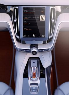 Automotive User interface with Integrated Apple iOS.