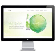 Koa Organic Water on Behance