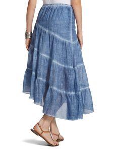 Comfy Chambray Skirt