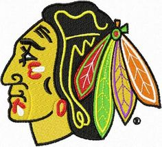 My favorite hockey team! Tropical Bath Towels, Chicago Blackhawks Logo, Arts And Crafts, Diy Crafts, Personalized Towels, Hand Towels, Machine Embroidery Designs, Logo Design, Kids Rugs