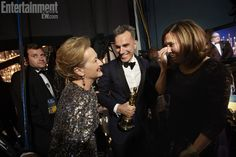Backstage: Meryl Streep and Daniel Day-Lewis