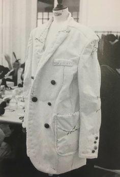 Undercover 2004 Fashion Studio, Fashion Art, Jun Takahashi, Undercover, Archive, Coat, How To Wear, Jackets, Prisoner
