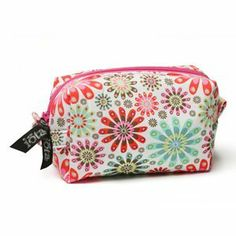 Medium Cosmetic Case - Charmed by C R Gibson. $16.00. Padded cosmetic case features main compartment, two interior pockets, loop for hanging and easy-to-clean nylon liner.. 7 x 4 x 4 in.. Item Description Medium Cosmetic Case - Charmed