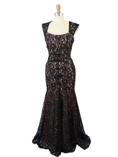 Old Hollywood Black Cocktail Dresses