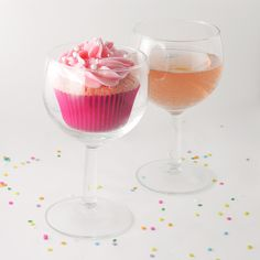 Pink Champagne Cupcakes2