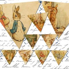 Special instant download Vintage Peter Rabbit by OneBlankDream, $1.50