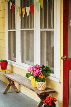 A little peek outside | wit&bloom