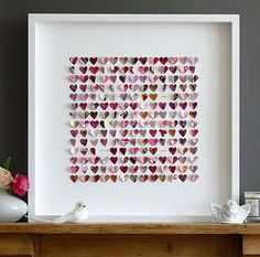 FRAMED HEARTS ART