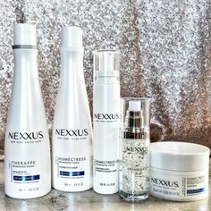Nexxus Therappe shampoo and Humectress conditioner, for salon-grade rebalancing and restoring. | 28 Products That'll Make Dry Or Damaged Hair So Much Better