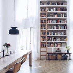 My imaginary bookstore features study tables and countless essays...