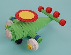 cartoncino ondulato - corrugated cardboard aereo - airplane