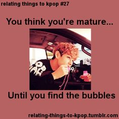 Ugh all the time... Just like V... just gotta blow them bubbles.