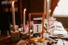 Industrial Winter Wedding / Nuntă industrială de iarnă - Sedință foto inspirațională - PAPIRA Wedding Details, Tea Lights, Industrial, Candles, Winter, Style, Winter Time, Swag, Tea Light Candles