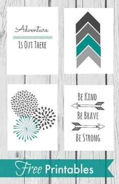 Free nursery printables - Nursery Wall Decor With Free Printables – Free nursery printables Nursery Wall Decor, Girl Nursery, Baby Decor, Nursery Room, Nursery Ideas, Decor Room, Project Nursery, Nursery Prints, Nursery Grey