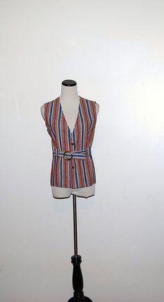 Vintage Boyfriend Vest by CheekyVintageCloset on Etsy, $14.50