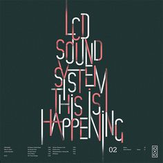 d[-_-]b  L C D    S  o u n d s y s t e m   #Band_Poster