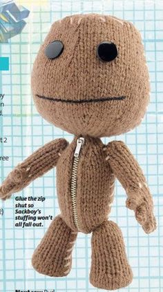 SO FUCKING ADORABLE - sackboy from little big planet