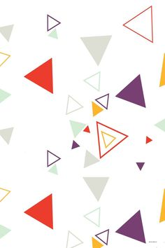 Baby Shower Backdrop UK White Backdrop UK  Triangle Backgrounds CM-S-1274-E - 11'W * 7.5'H(3.3 * 2.29M)