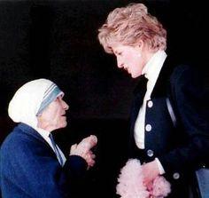 <3 Princess Di & Mother Teresa by AngelfaceCreative