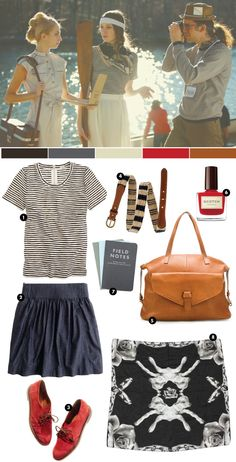pretty sure that skirt, bottom left, is the chambray pull on from J Crew that's backordered til June. Ordered it anyway. YAY credit cards!
