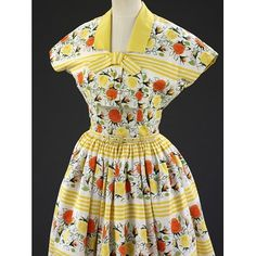 Summer dress & jacket, Horrockses Fashions, 1955