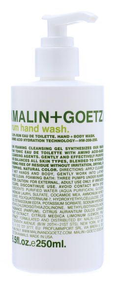 love love love love love everything malin + goetz; this scent is how I wish every man smelled.