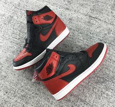 """72d29d6f1260 A first look at the Air Jordan 1 """"Bred"""" aka """"Banned"""" releasing on September  is finally here"""