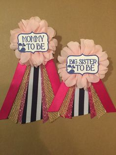 navy pink whale baby shower corsage pin theme by afalasca on etsy