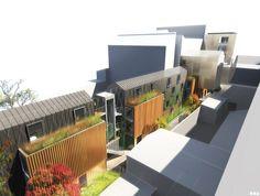 SOA Architectes Paris > Projets > MAISON RELAIS BELLEVILLE