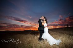 Beautiful sunset backdrop in this photo of Kevin and Monica's wedding by Dewald Kirsten Wedding Images, Wedding Themes, Wedding Vows, Wedding Dresses, Boulder Beach, Landscape Photographers, Beautiful Sunset, Getting Married, Backdrops