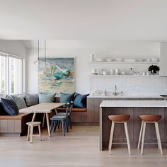 The winner of Best Residential Kitchen inAustralia is Justine Hugh Jones. Source Coco Republic