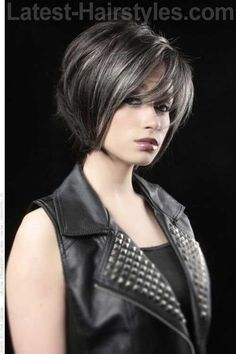 9. Short Layered Bob Cut