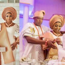 Nigerian Celebrity Wedding: Official Photos From Stephanie Coker & Olumide Aderinokun's Yoruba Traditional Wedding | iCube Photography