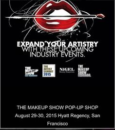 Expand your artistry at the upcoming. The Makeup Show