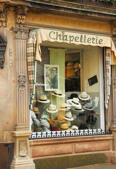 Art of hat, Paris, France Boutiques, Ivy House, Belle Villa, I Love Paris, Cafe Shop, Shop Fronts, Lovely Shop, Shop Signs, City Lights