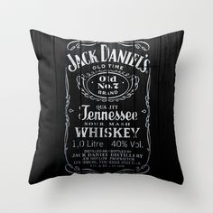 Jack Throw Pillow by Nicklas Gustafsson - $20.00