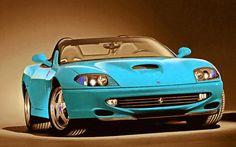 I uploaded new artwork to fineartamerica.com! - 'Ferrari 3' - http://fineartamerica.com/featured/ferrari-3-lanjee-chee.html via @fineartamerica