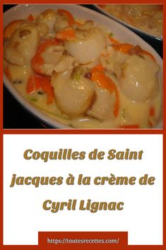 Coquille Saint Jacques, Risotto, Entrees, Food And Drink, Chicken, Meat, Desserts, Occasion, Fruit