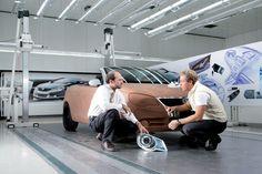 Vw Eos, Design Process, Concept Cars, Volkswagen, Model Car, Sculpting, Modeling, Scale, Sketch