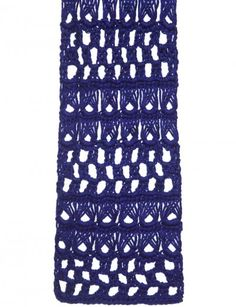 Broomstick Lace Scarf, Stole or Throw - Patterns | Yarnspirations
