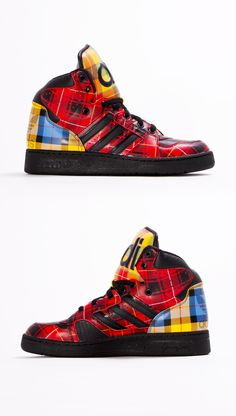 outlet store 80a29 41c64 Adidas Jeremy Scott shoes Js instinct hi Trainers. THIS IS THE PAIR I HAVE!